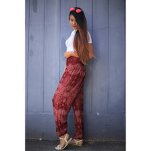 Load image into Gallery viewer, Paisley 133 women harem pants in Red PP0004 020133 01