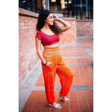 Load image into Gallery viewer, Peacock 35 women harem pants in Orange PP0004 020035 01