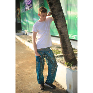 Peacock 8 men/women harem pants in Dark green PP0004 020008 03