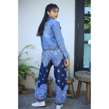 Load image into Gallery viewer, Rose bushes 118 women harem pants in Navy blue PP0004 020118 03