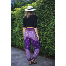 Load image into Gallery viewer, Rose bushes 118 women harem pants in Purple PP0004 020118 04