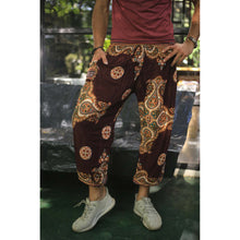 Load image into Gallery viewer, Sacreed cross 113 men/women harem pants in Brown PP0004 020113 02