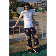 Load image into Gallery viewer, Sacreed cross 113 men/women harem pants in Navy blue PP0004 020113 04
