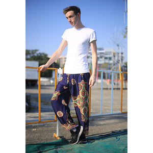 Sacreed cross 113 men/women harem pants in Navy blue PP0004 020113 04