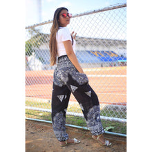 Load image into Gallery viewer, Side mandala 157 women harem pants in Black PP0004 020157 05