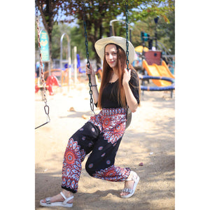 Side sunflower 141 women harem pants in Black PP0004 020141 05