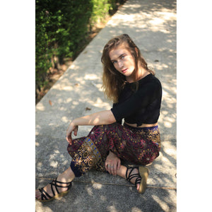 Sunflower 152 women harem pants in Navy Blue PP0004 020152 03