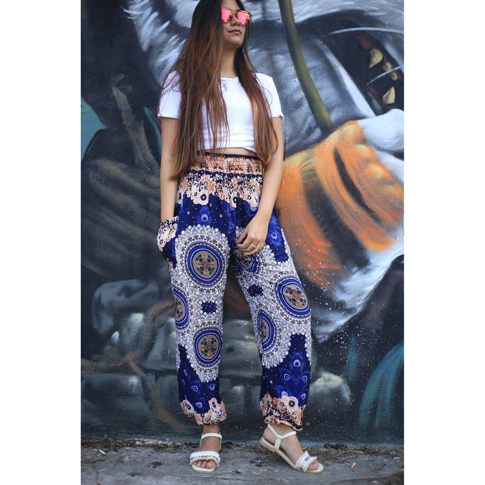 Sunflower 156 women harem pants in Navy Blue PP0004 020156 04