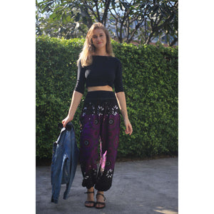 Sunflower contrast 122 women harem pants in Purple PP0004 020122 01