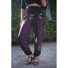 Load image into Gallery viewer, Sunflower contrast 122 women harem pants in Purple PP0004 020122 01