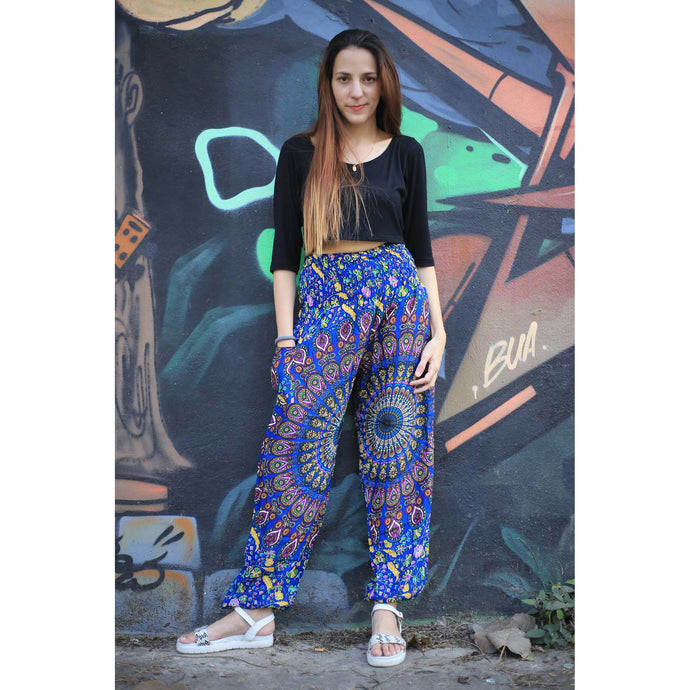 Sunflower portal 129 women harem pants in Blue PP0004 020129 02
