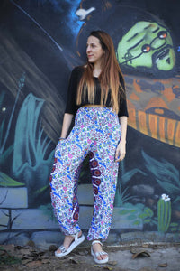 Sunflower portal 129 women harem pants in White PP0004 020129 04
