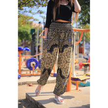 Load image into Gallery viewer, Temple flower 159 women harem pants in Navy Blue PP0004 020159 04