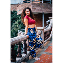 Load image into Gallery viewer, Tie dye 103 women harem pants in Bright Navy PP0004 020103 02