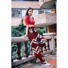 Load image into Gallery viewer, Tie dye 103 women harem pants in Red PP0004 020103 01