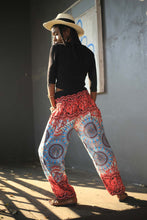 Load image into Gallery viewer, tone mandala 91 women harem pants in Red PP0004 020091 06