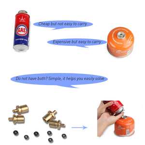 Gas Refill Adapter for Camping Stove