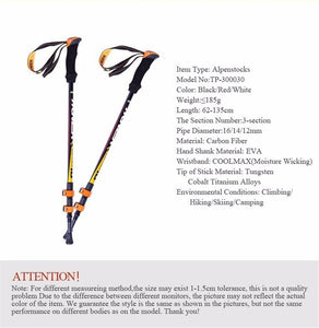 Ultra-light Adjustable Walking Stick