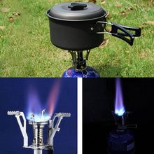 Load image into Gallery viewer, Mini Outdoor Camping Stove