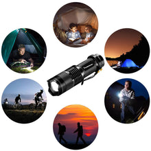 Load image into Gallery viewer, Adjustable LED Flashlight