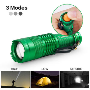 Adjustable LED Flashlight
