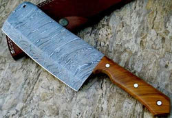 "Chef Meat Cleaver Knife 12.0"" Length Best for Chopping meat and Vegetables by TurtleBlades - Turtle Blades"