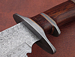 Best Quality Handmade Damascus Bowie Knife 17'' Stunning Look