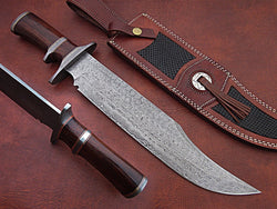 damascus-steel-hunting-knife