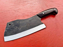 Custom Handmade Chef Meat Cleaver D2 Steel - Turtle Blades