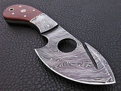 "8"" Fixed Blade Skinner Knife Made with Damascus Steel"
