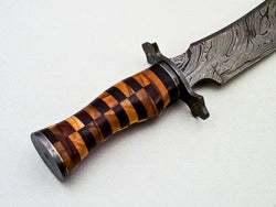 hunting knife rosewood
