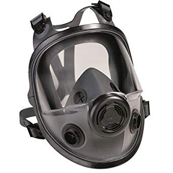 North by Honeywell 5400 Series Low Maintenance Full Facepiece Respirator