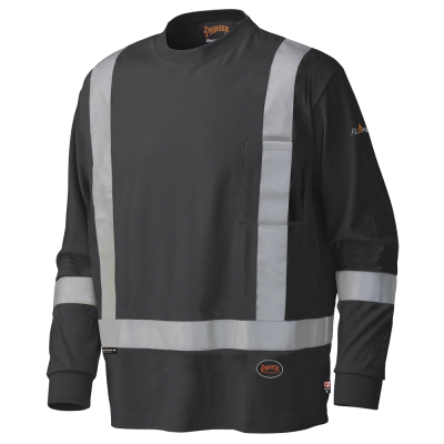Pioneer FR/Arc Rated Long-Sleeved Safety Shirt Asst. Colors