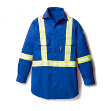 Load image into Gallery viewer, Rasco FR Uniform Shirt w/ reflective trim