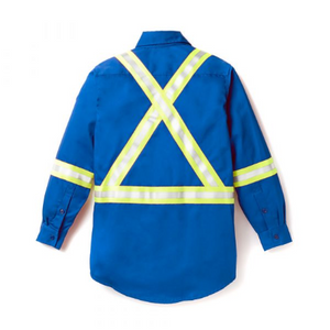 Rasco FR Uniform Shirt w/ reflective trim