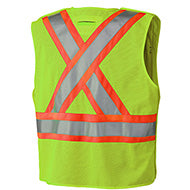 Pioneer Hi-Viz Safety Tear-Away Mesh Back Vest (Various Colors)