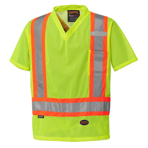 Pioneer Hi-Viz Mesh Traffic Shirt (Various Colors)
