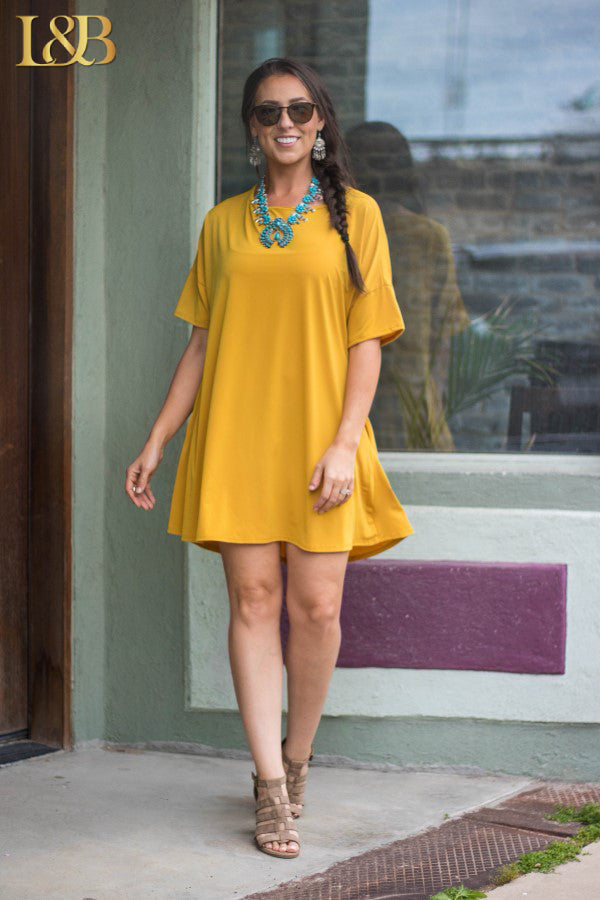 Mallory Short Sleeve Dress