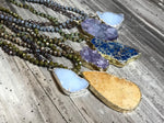 Savannah Hoffman Druzy Necklace
