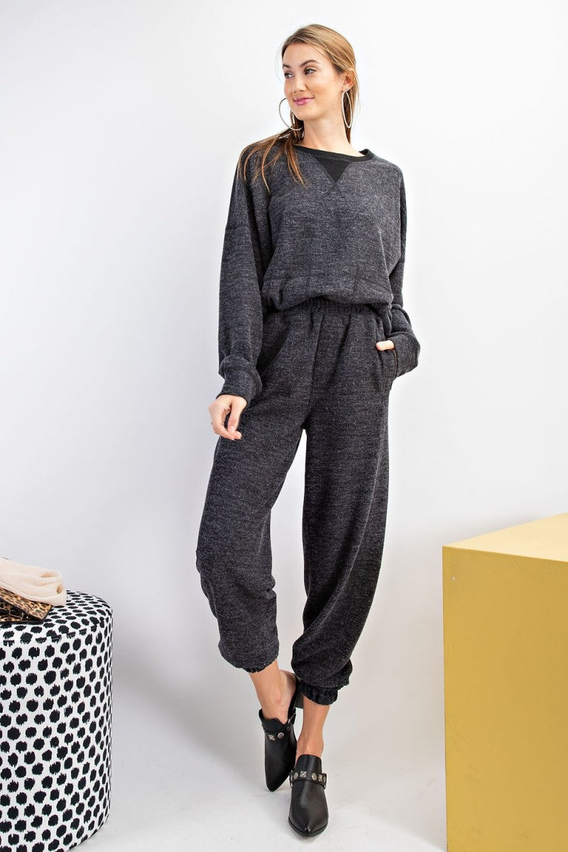 Hacci Knit Lounge Set
