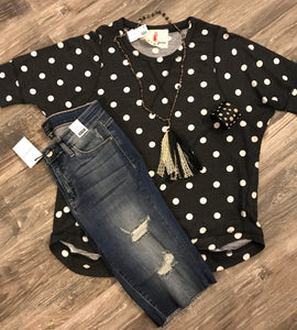 Poppy Dot Tunic