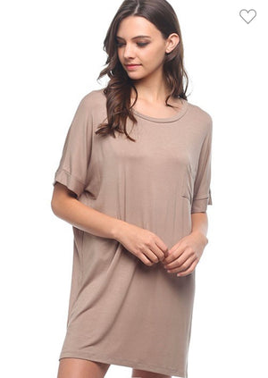 Lets Stay In T-Shirt Dress