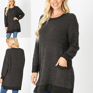 Susan Tunic Ash Grey