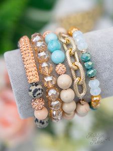 Calm and Cool Bracelet Stack