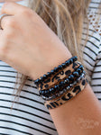 Leopard Together Bracelet Stack