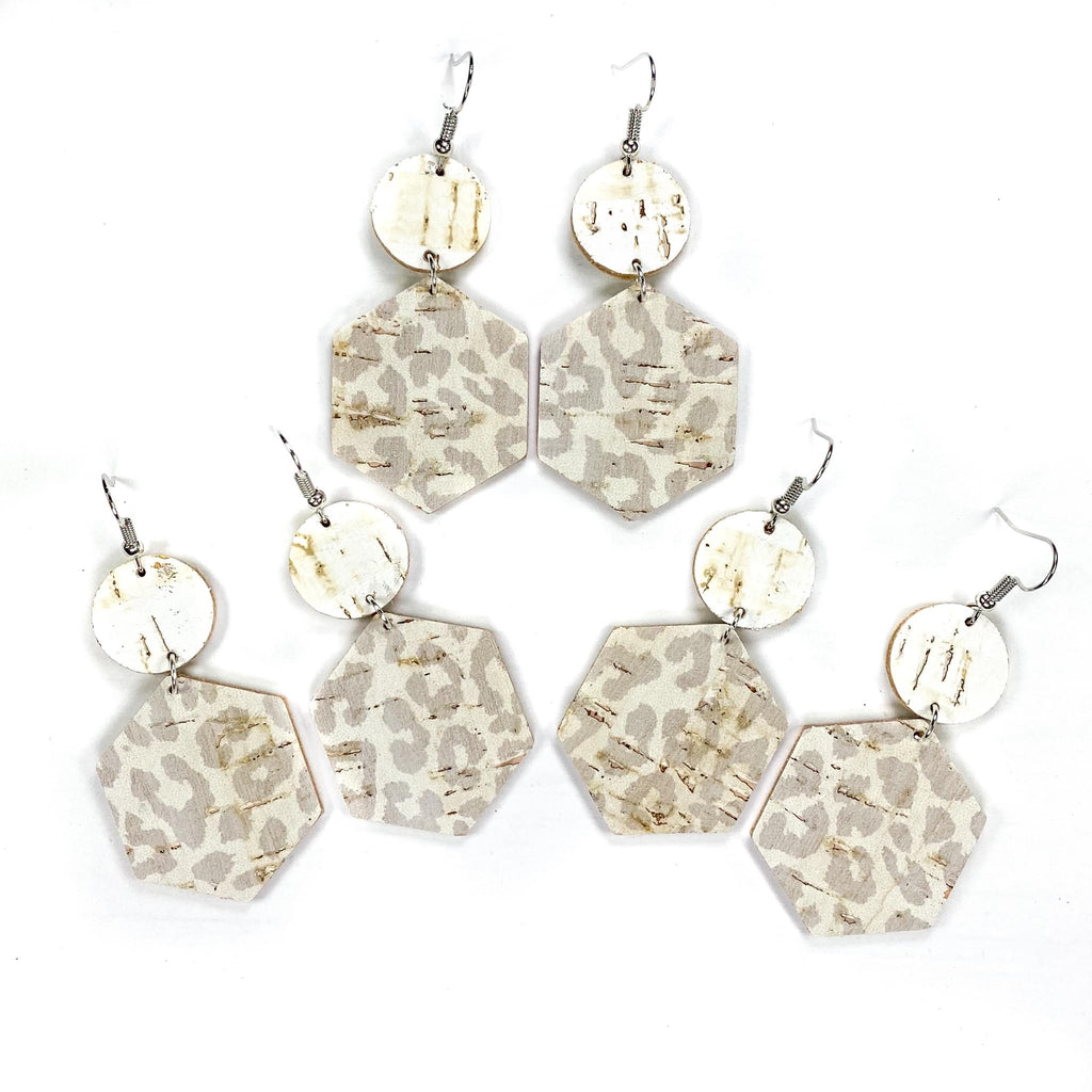 Desert Leopard Earrings