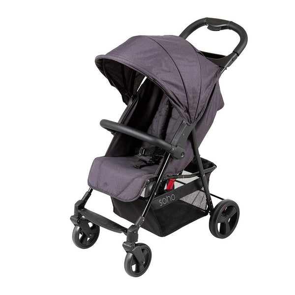 4 Wheel Light Weight Compact Stroller - Factory Direct Oz