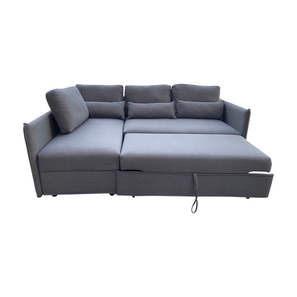 Murray Corner Sofa Bed Grey - Factory Direct Oz