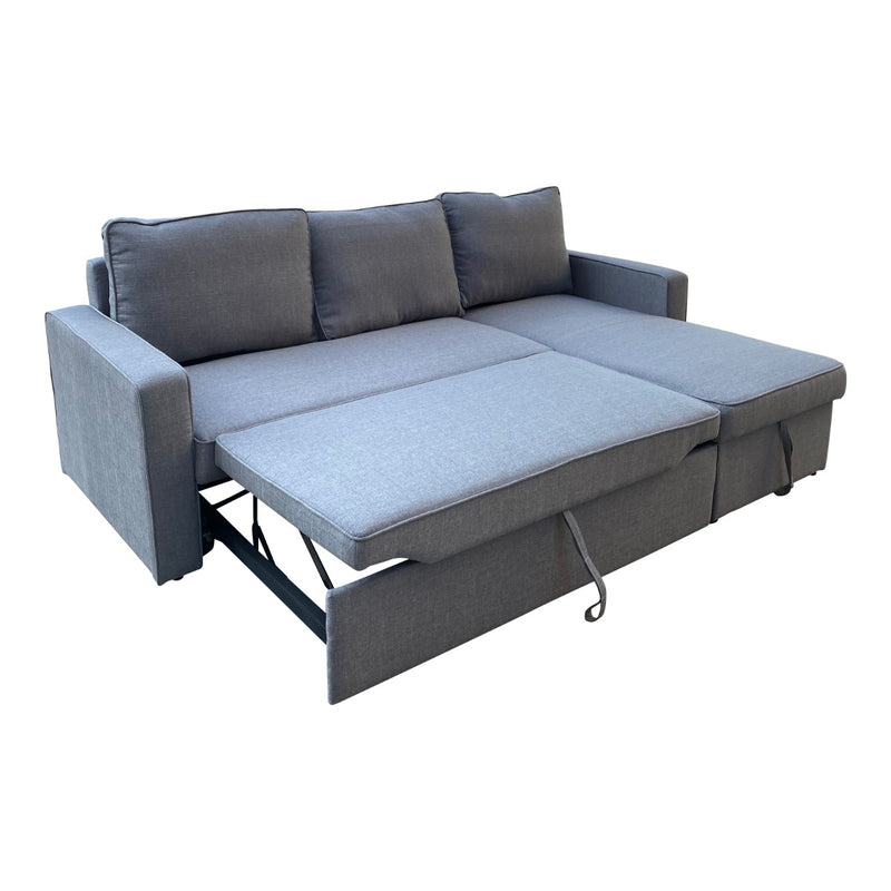 Yarra Corner Sofa Bed Grey - Factory Direct Oz