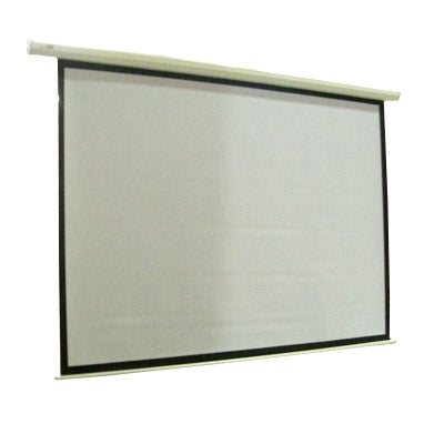 "100"" Electric Motorised Projector Screen TV + Remote - Factory Direct Oz"